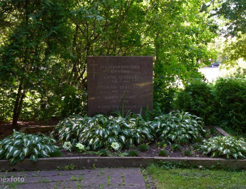 Partizanų kapas