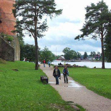 Trakų pilies sala