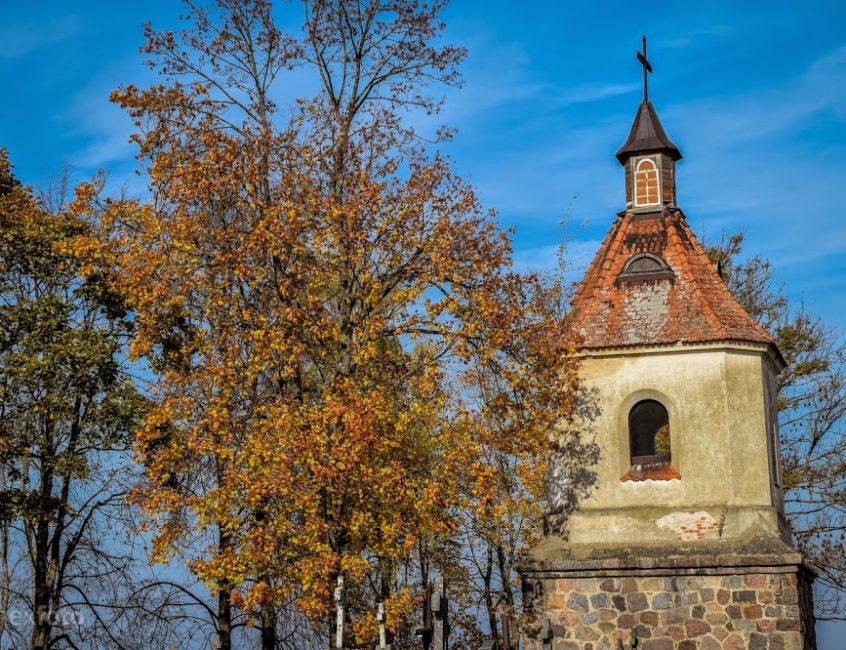 Sudervės bažnyčios varpinė