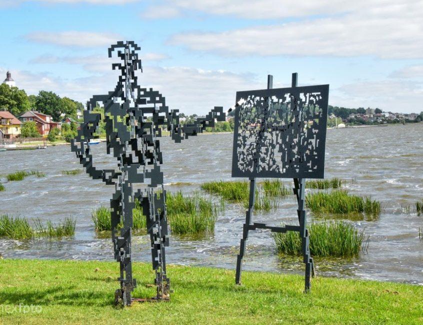 Masčio krantinės skulptūrų parkas