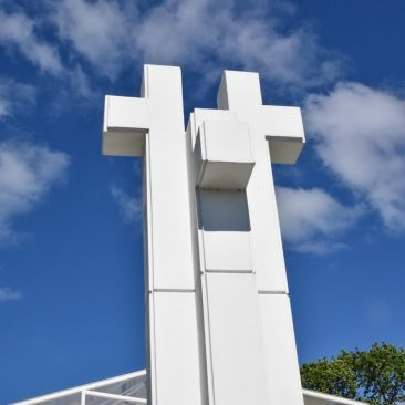 """Skulptūra """"Trys kryžiai"""""""