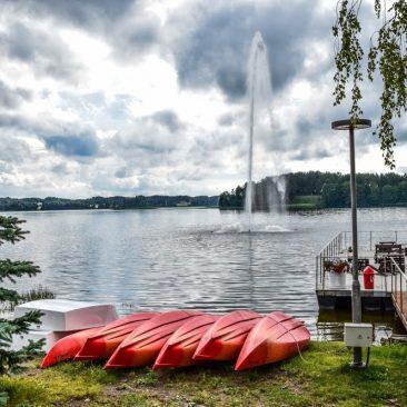 Zaraso ežero fontanas