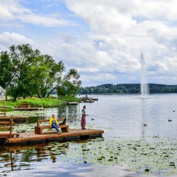 Zaraso ežero krantinė