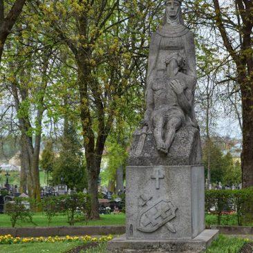 Paminklas žuvusiems 1919-1922 m.  mūšiuose prie Širvintų