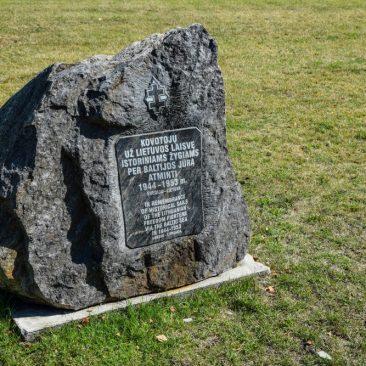 Paminklinis akmuo žygiams per Baltijos jūrą 1944-1953 m. atminti