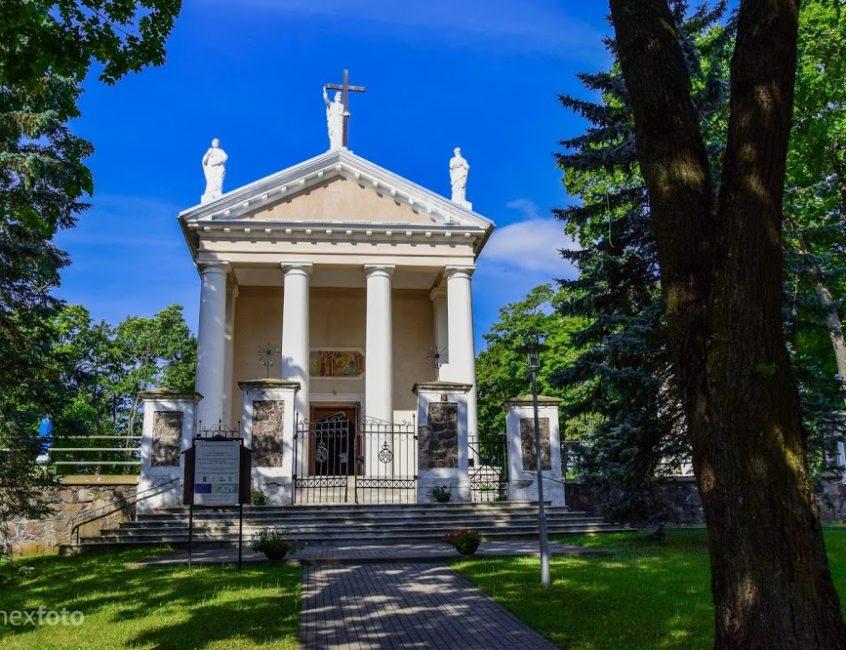Taujėnų Šv. Kryžiaus Išaukštinimo bažnyčia
