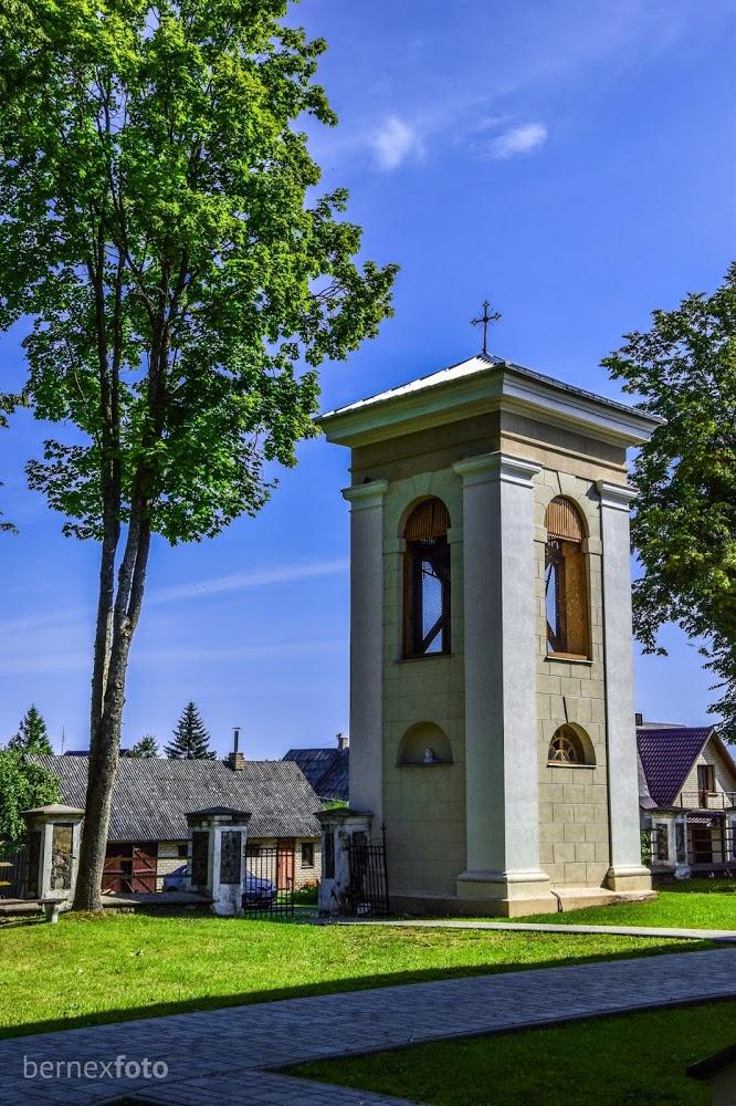 Taujėnų bažnyčios varpinė