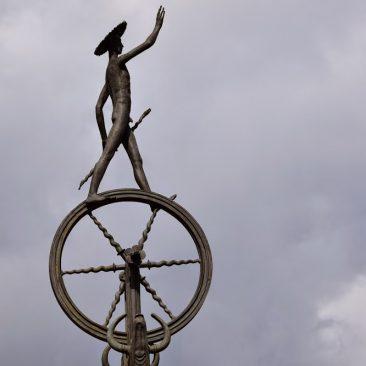"""Skulptūra """"Patrimpas"""""""