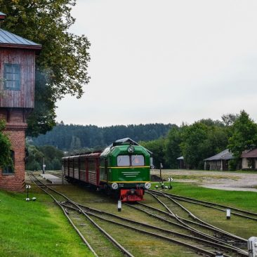 Siaurojo geležinkelio stotis ir kompleksas