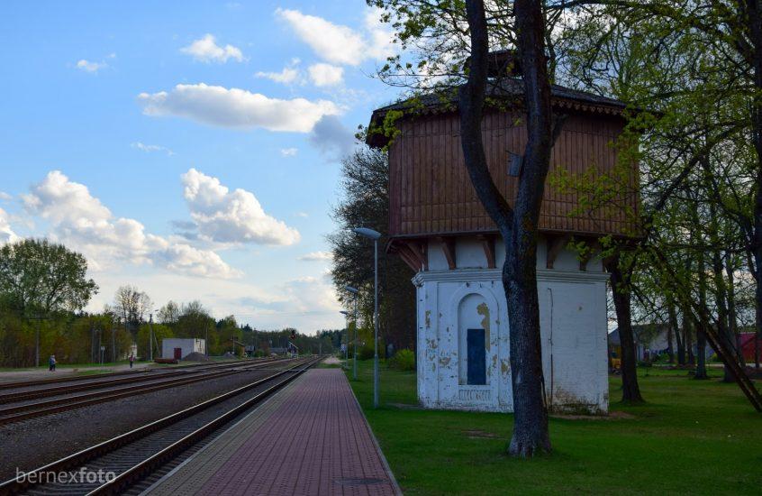 Ignalinos geležinkelio stoties vandens bokštas