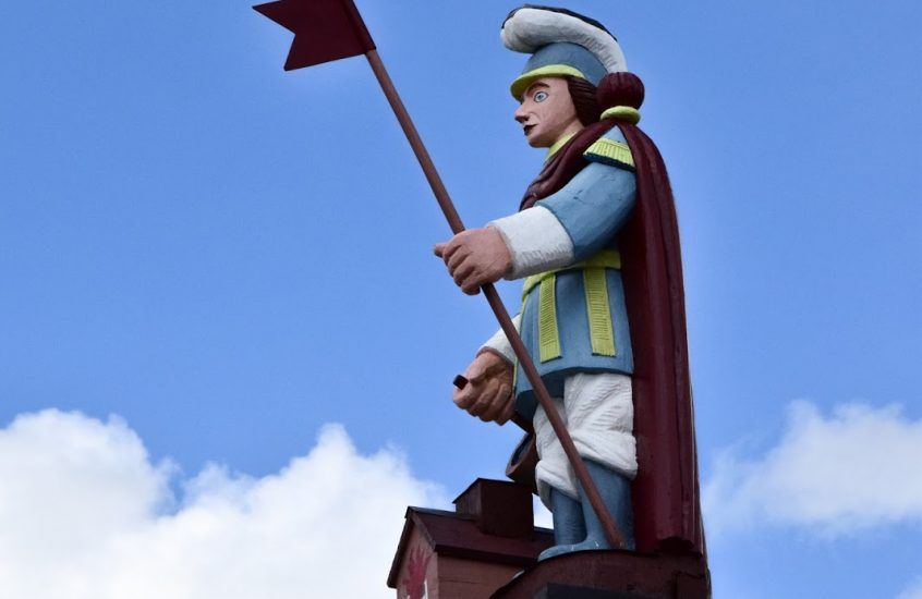 Šv. Florijono skulptūra