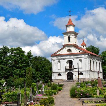 Senųjų Plungės kapinių koplyčia