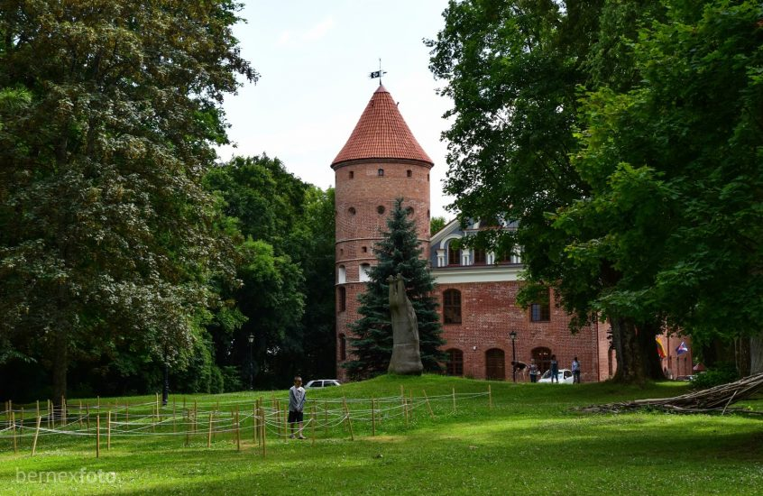 Raudonvario dvaro rūmų parkas