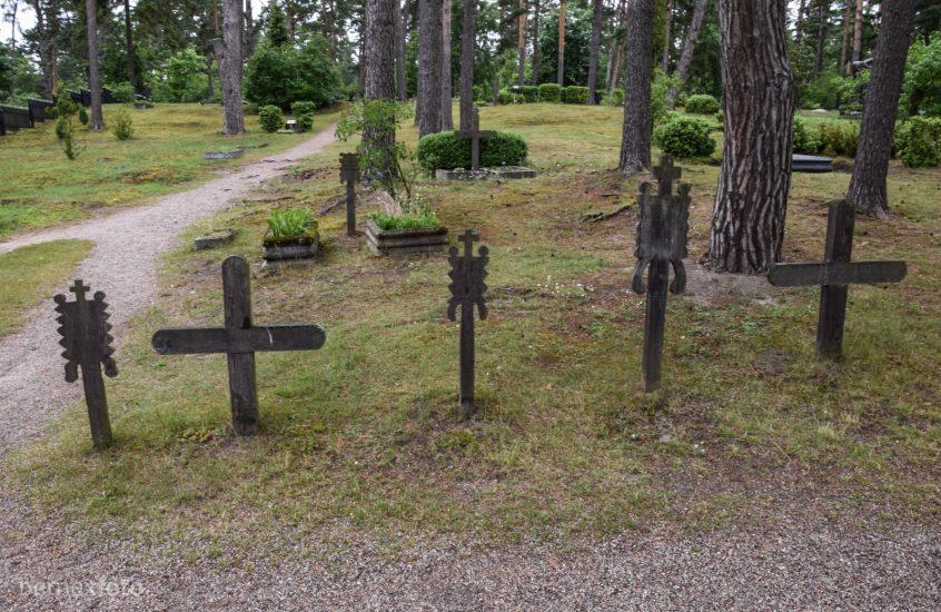 Senosios (etnografinės) Nidos kapinės