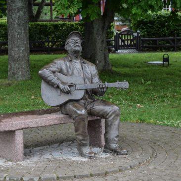 Skulptūra Vytautui Kernagiui